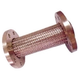 Flanged stainless steel soft joint
